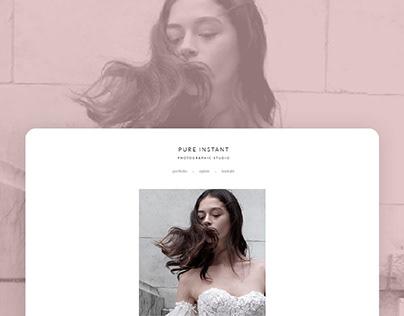 Wedding Photographer Portfolio Website