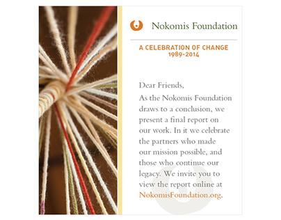 Brochure / Nokomis Foundation Closing Report