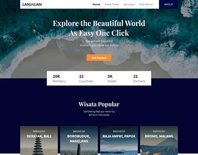 Travel Website - Design