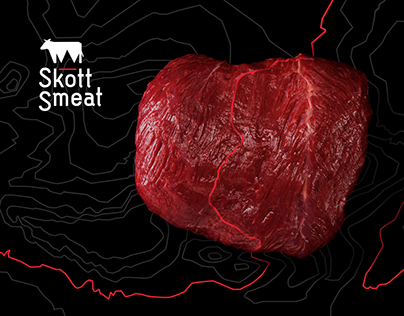 Skott Smeat website & identity