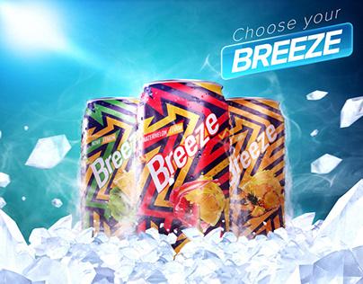 Breeze soda