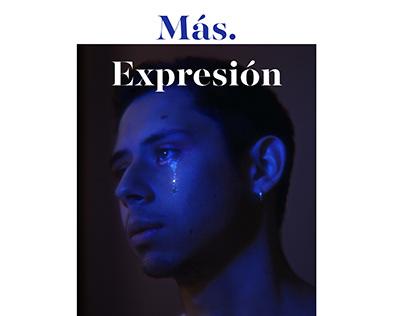 Más. Expresión