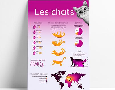 Document infographique - chats