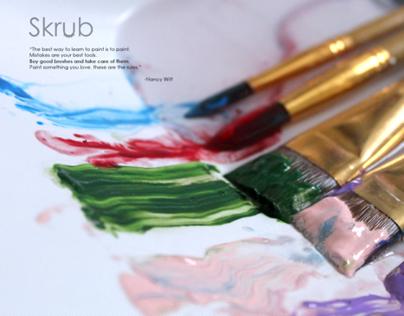 Skrub | Paintbrush Cleaner