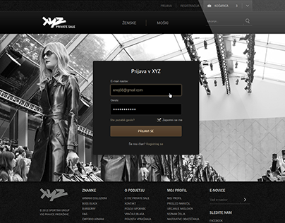 XYZ Premium Fashion Store