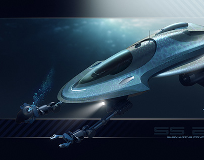 Submarine and helicopter concepts