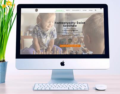 Szacholandia - complex chess e-learning platform