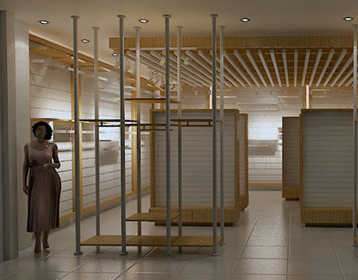 Model baby fit Retail Store Design (20180223)