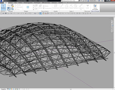 First test - adaptive components with Revit 2015