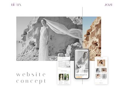BBanch - Wedding website concept