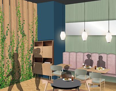 The Squid & Ink - Restaurant Interior Design