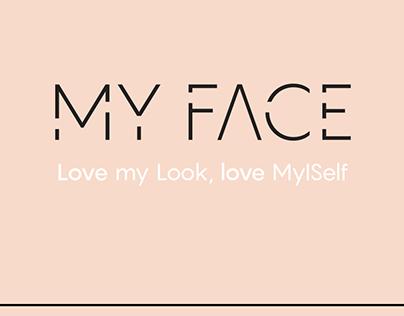 MY FACE// app design