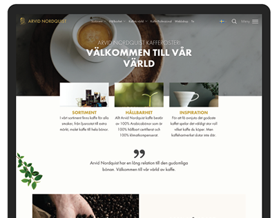 Arvid Nordquist Coffee