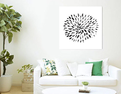 Flower-Inspired Wall Art