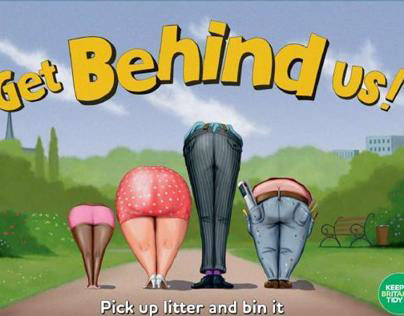 Keep Britain Tidy litter campaign