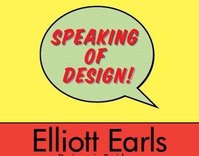 Speaking of Design Poster