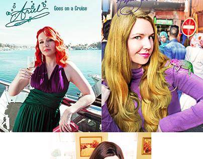 Disney Princess Vacation - Retouch Project