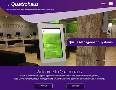 Quatrohaus Website