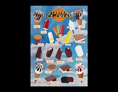 Italian Ice-Cream Icons Set