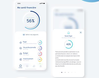 Hike - Financial advisor startup mobile app