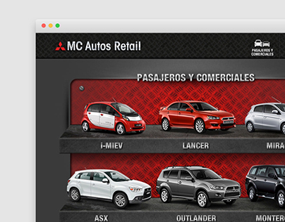 MC Autos Mitsubishi - Web Site