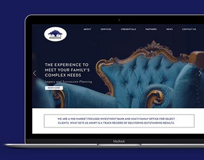 Wodehouse Capital- Website Design