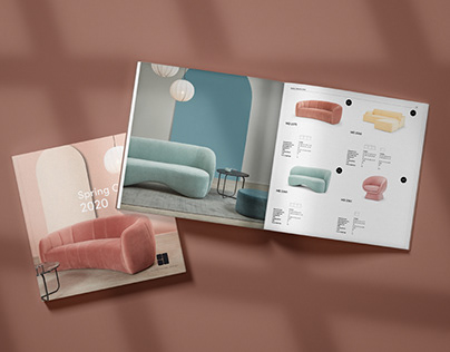 Scandinavian design - Product catalogue