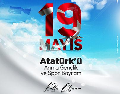 #19mayıs #design #atatürk #samsun