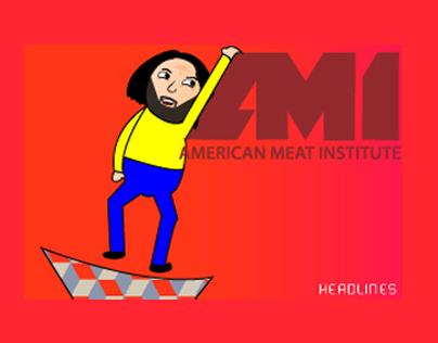 AMI Headlines: Eat Meat or Die...
