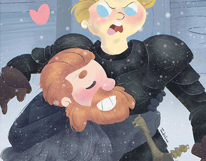 Brienne and Tormund - GOT