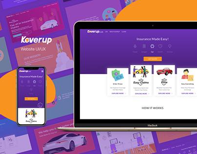 Koverup - Website UI/UX & Branding.