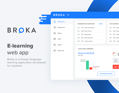 Broka - E-learning Web App