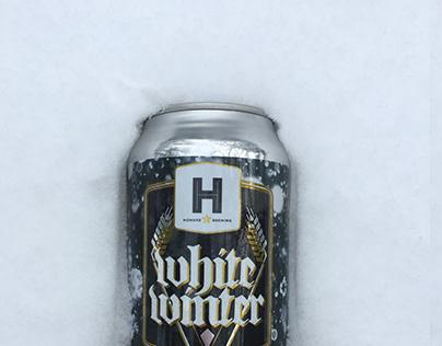 Beer Branding Design for Howard Brewing's White Winter