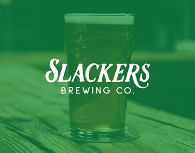 Slackers Brewing Co. Branding
