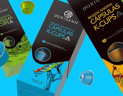 D'ORIGENN COFFEE K-CUPS