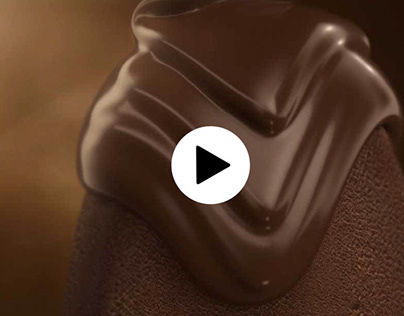Chocolate Ice Cream Animation