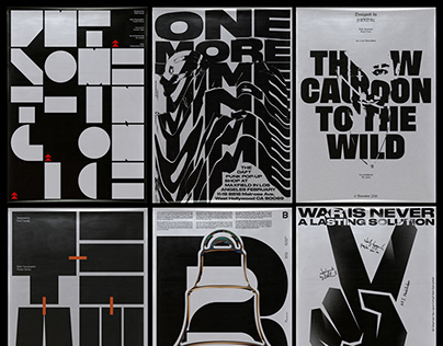 Thirty Typographic Posters (2018/19)