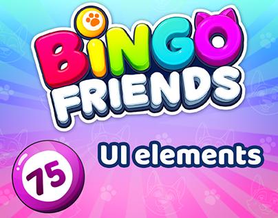 Bingo friends - UI elements