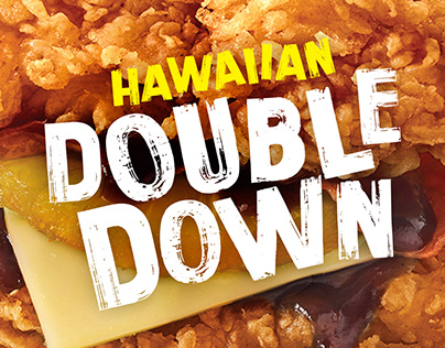 KFC Hawaiian Double Down