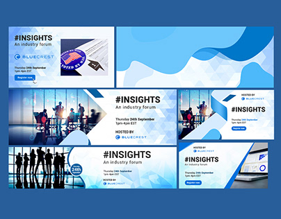 Event social and email tiles