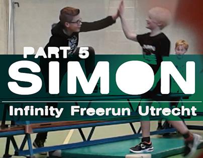 Video: Simon training by Infinity FreeRunning - Part 5
