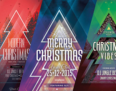 Christmas Poster Designs