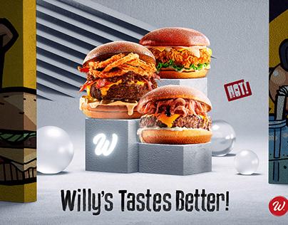 Willy's Kitchen // Billboard