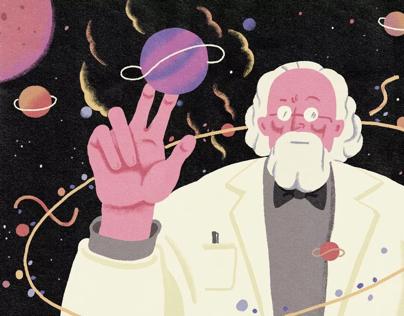 Illustration for science journal