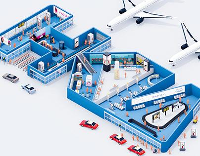 JCD Hong Kong International Airport Branch