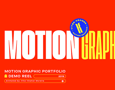 Motion Graphics // Portifolio 2019