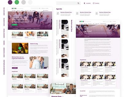 Zeno Zorg Health Care Website
