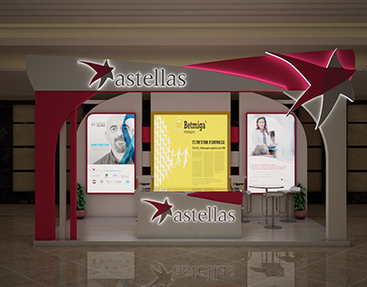 astellas booth