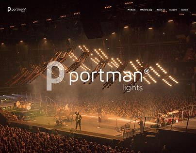 Portman Lights - Website