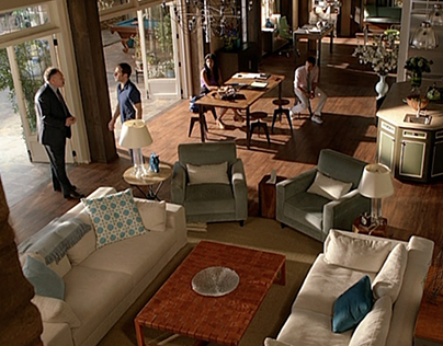 Royal Pains: Stage Sets